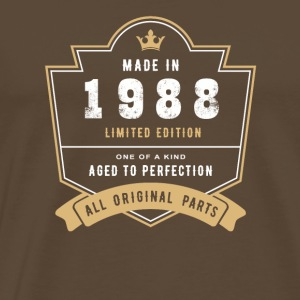 Made In 1988 Limited Edition All Original Parts - Men's Premium T-Shirt
