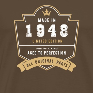 Made in 1948 Limitierte Auflage Alle Originalteile - Männer Premium T-Shirt