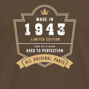 Made In 1943 Limited Edition All Original Parts - Men's Premium T-Shirt