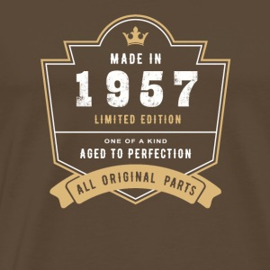 Made in 1957 Limitierte Auflage Alle Originalteile - Männer Premium T-Shirt