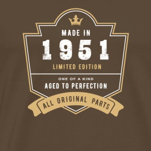 Made In 1951 Limited Edition All Original Parts - Men's Premium T-Shirt