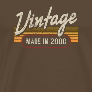 Vintage MADE IN 2000 - Men's Premium T-Shirt