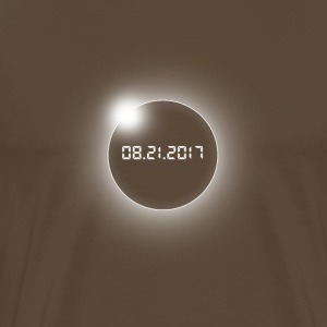 Total Eclipse solaire-USA-08.21.2017 - T-shirt Premium Homme