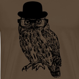 Gentleman Owl - Men's Premium T-Shirt