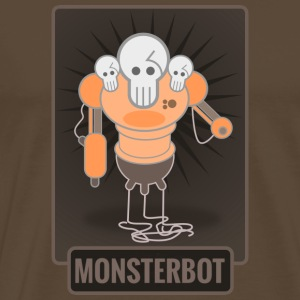 Monsterbot - Herre premium T-shirt