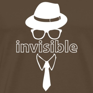 invisibleman wite - Men's Premium T-Shirt