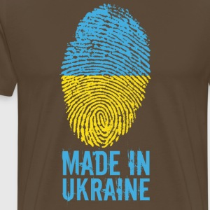 Made in Ukraine / Gemacht in Ukraine Україна - Männer Premium T-Shirt