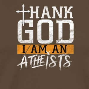 Thank God I'm an ATHEIST - Men's Premium T-Shirt