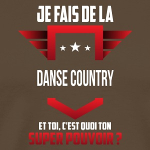 Danse country - T-shirt Premium Homme