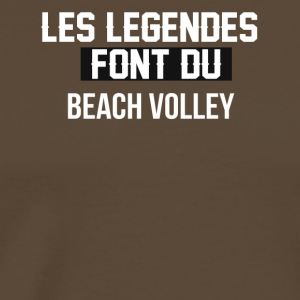 Beach volley - T-shirt Premium Homme