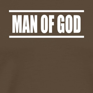 man of god - Männer Premium T-Shirt