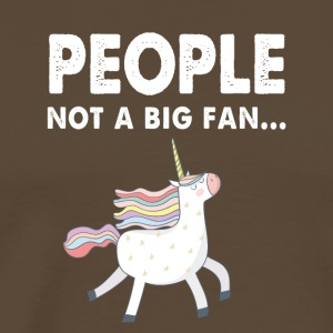 Unicorn no matter free fantasy gift people love - Men's Premium T-Shirt