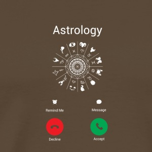 Astrologie me appelle cadeau astrologue - T-shirt Premium Homme