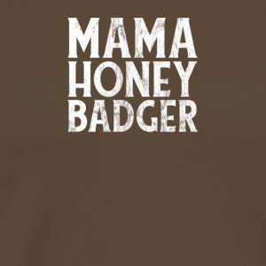 MAMA HONEY BADGER! - Men's Premium T-Shirt