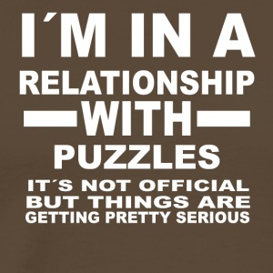 relationship with PUZZLES - Männer Premium T-Shirt