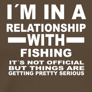 relationship with FISHING - Männer Premium T-Shirt