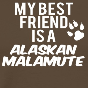 My friend is a alaskan malamute