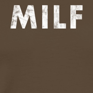 Milf distressed - Milf, MILF Mom i like to - Men's Premium T-Shirt