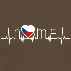 i love home home Czech Republic - Men's Premium T-Shirt