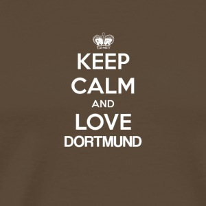 Keep Calm and Love DORTMUND - Männer Premium T-Shirt