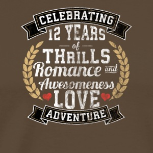12 years married - Men's Premium T-Shirt