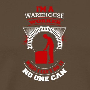 Warehouse Worker Design - Herre premium T-shirt