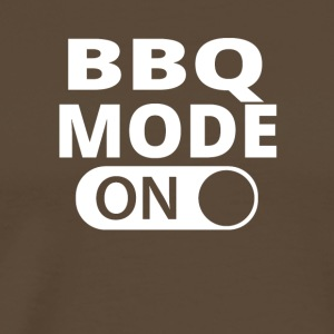 MODE ON BBQ - Premium-T-shirt herr