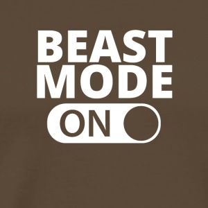 MODE ON Beast bodybuilding - Men's Premium T-Shirt