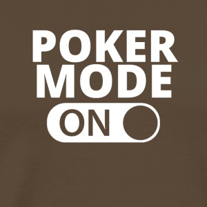 MODE ON POKER - Maglietta Premium da uomo