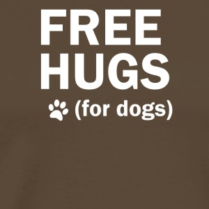 Free hugs for dogs dog dog mother - Men's Premium T-Shirt