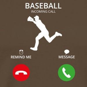 Call Mobile Call baseball - Men's Premium T-Shirt