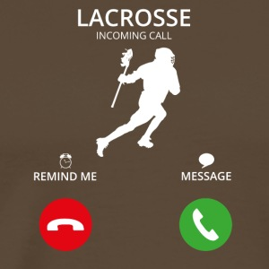 Ring Mobile Call lacrosse - Premium-T-shirt herr