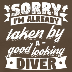 Diving Diver Sorry Already Taken Shirt - Men's Premium T-Shirt