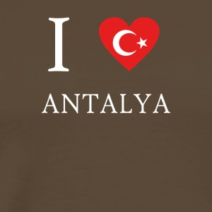 Love Tuerkiye Turkey ANTALYA - Men's Premium T-Shirt
