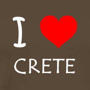 I Love Crete - Men's Premium T-Shirt