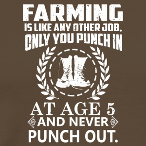 Farming - Men's Premium T-Shirt