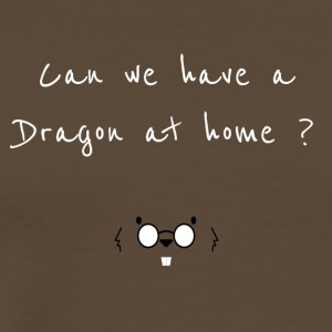 Can we have a dragon at home? - Men's Premium T-Shirt