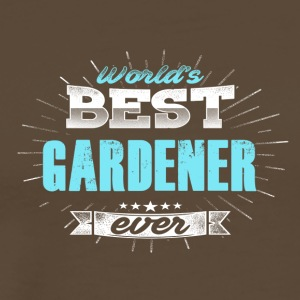 World's best gardener - Men's Premium T-Shirt