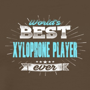 Worlds greatest xylophonist - Men's Premium T-Shirt