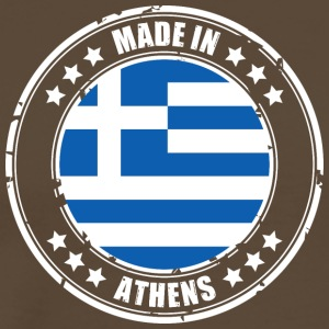 MADE IN ATHEN - Herre premium T-shirt