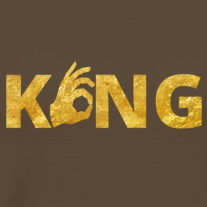 King Perfect Gold - Männer Premium T-Shirt