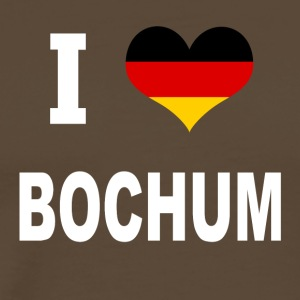 I Love Germany BOCHUM - Premium T-skjorte for menn
