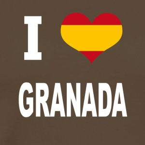 I Love Spain GRANADA - Men's Premium T-Shirt