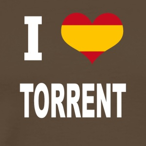 I Love Spain TORRENT - Men's Premium T-Shirt