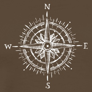 Compass - Premium T-skjorte for menn