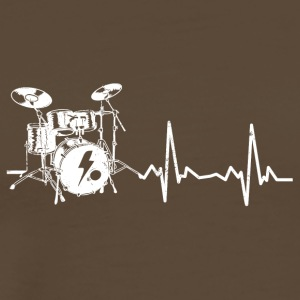 Beat Heartbeat of Drum - Men's Premium T-Shirt