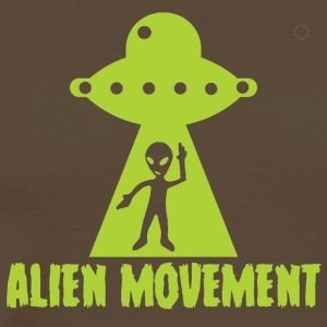Alien / Area 51 / UFO: Alien Movement - Premium-T-shirt herr