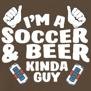58 kind of guy soccer - Männer Premium T-Shirt