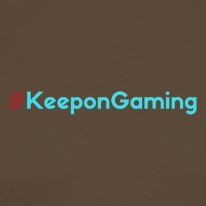 #KeeponGaming Red & Cyan - T-shirt Premium Homme