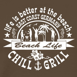 Chill Grill East Coast - Premium-T-shirt herr